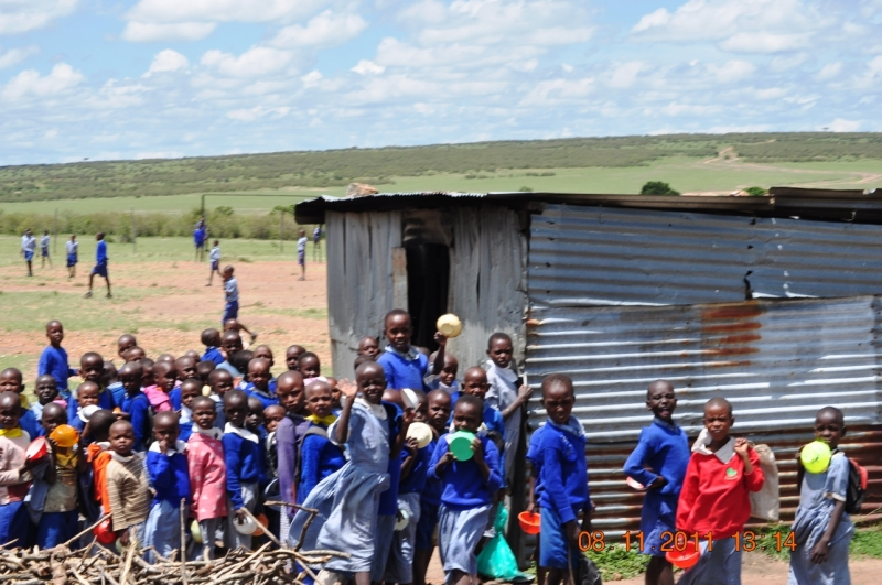 School at Masai Mara : FootprintsForever.com