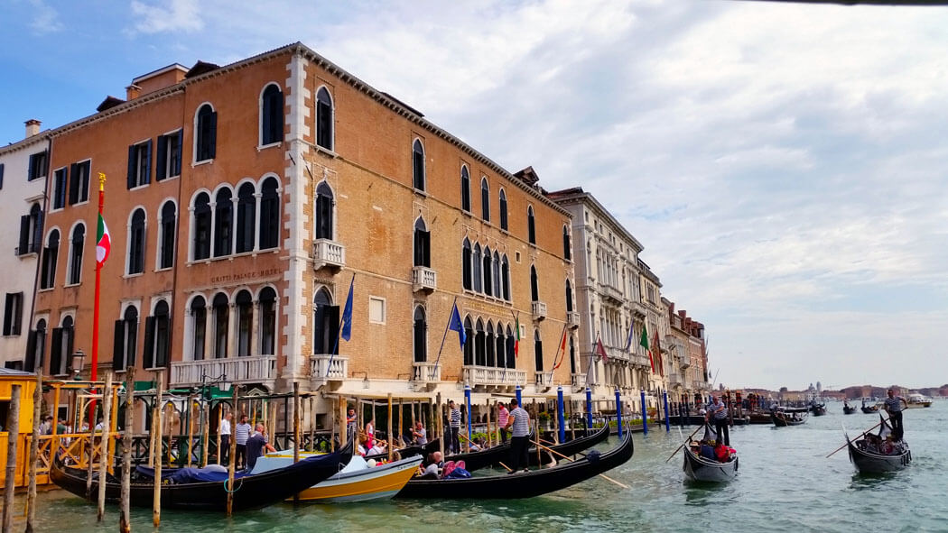 A busy day: Grand Canal Venice