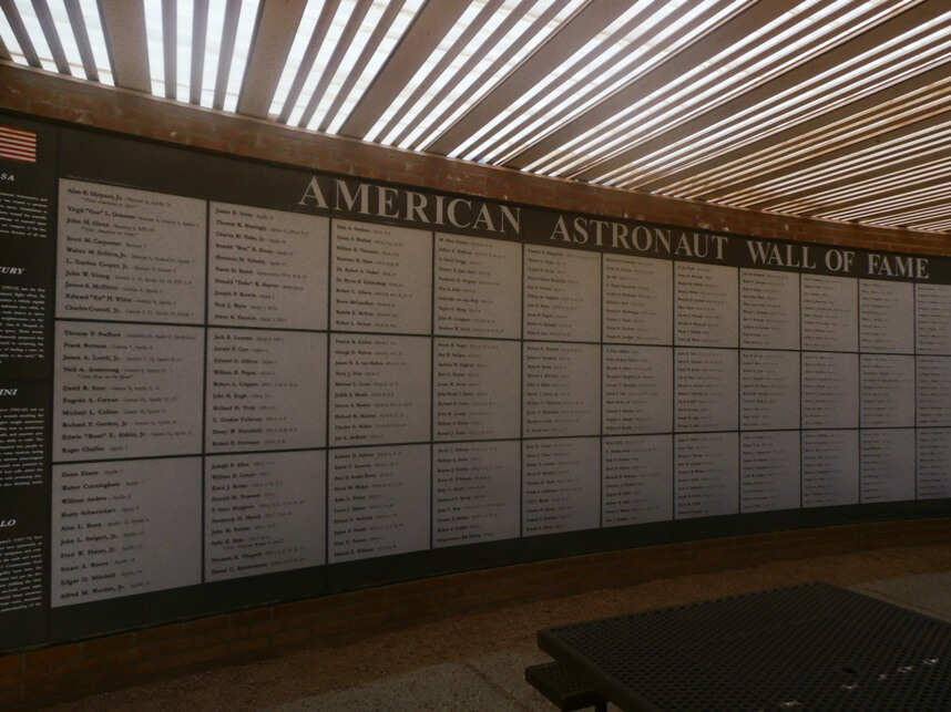 The Astronaut Wall of Fame,
