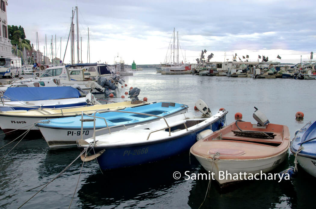 Piran Harbour : Slovenia Alps, Lakes, Caves, Medieval Castles and the Adriatic