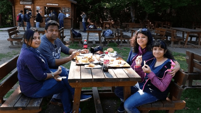 Lunch at Plitvice