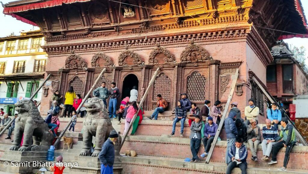 Temple at durbar-square