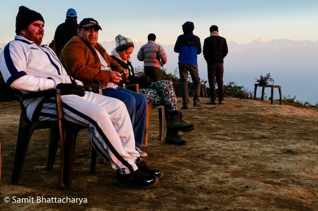 Team - Sunrise at Nagarkot