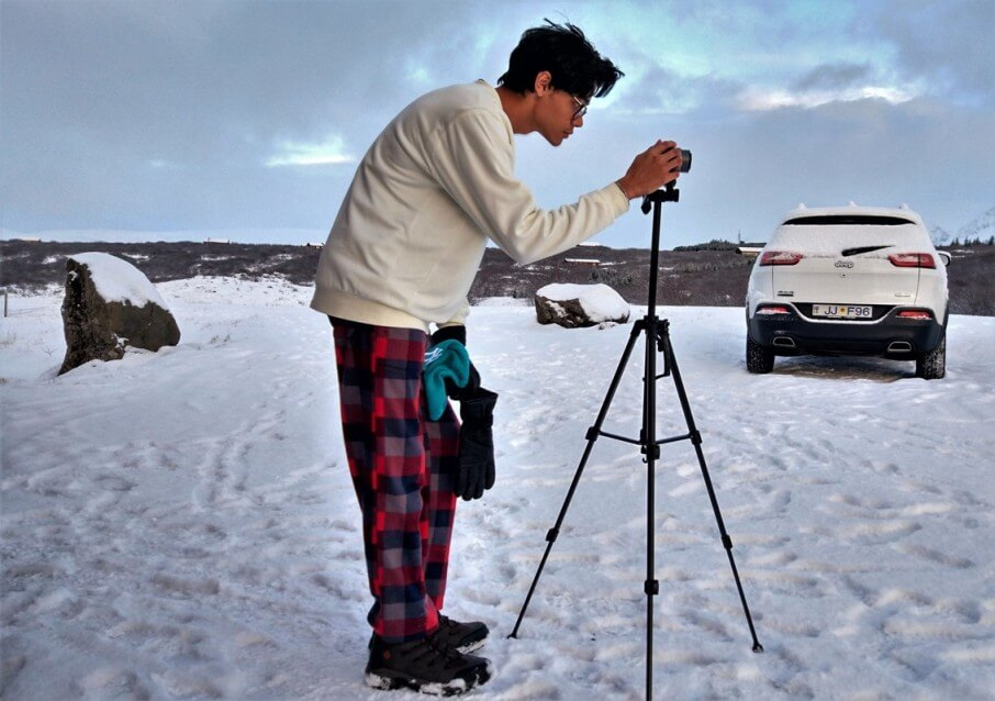 Photographing Uthlid @Iceland Travel