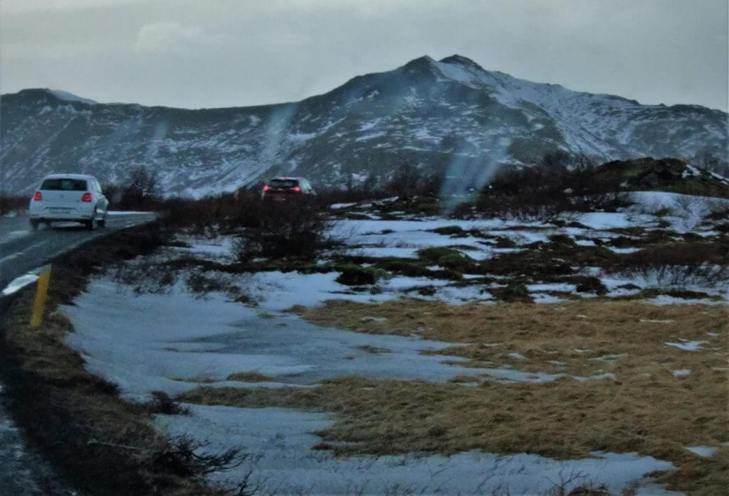 On our way to Thingvellir National Park, Iceland