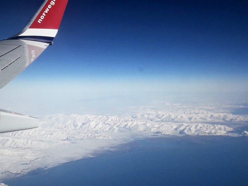 Iceland from Air