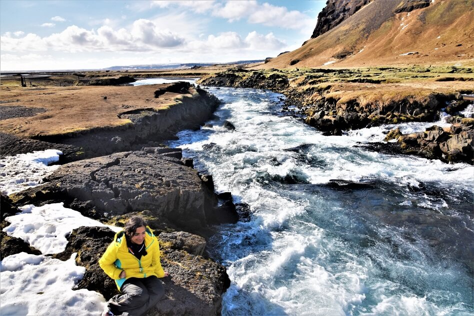 Running stream, Iceland Road Trip- Route 1