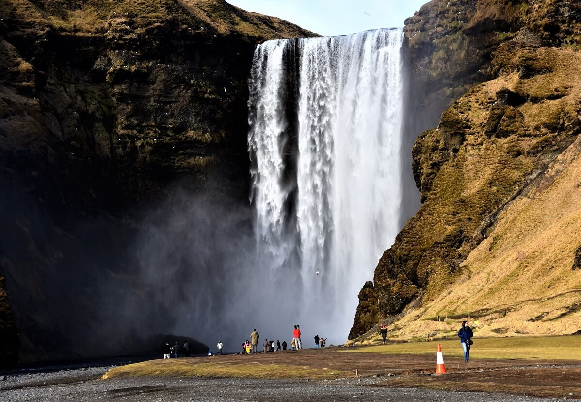 Skogafoss : On Our Iceland Road Trip