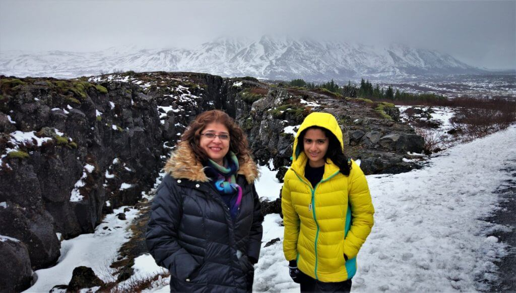 Tectonic Plates at Thingvellir, Iceland Iceland