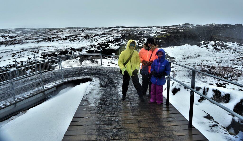 At Thingvellir National Park, Iceland