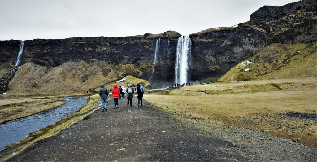 Seljalandsfoss Waterfall, Iceland Golden Circle