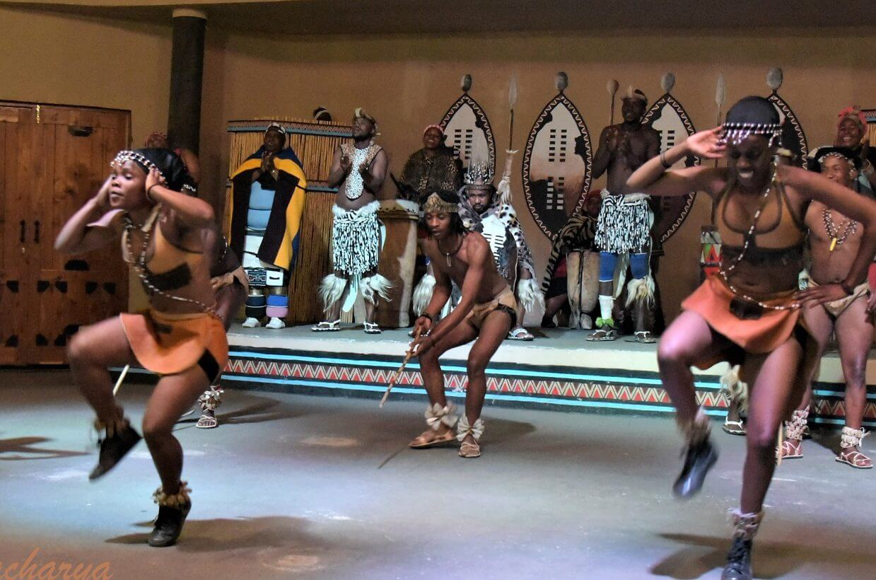 African Dance at Aha Lesedi. Near Johannesburg