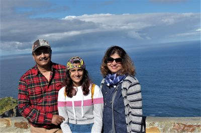 Family Pic at Cape Point, South Africa