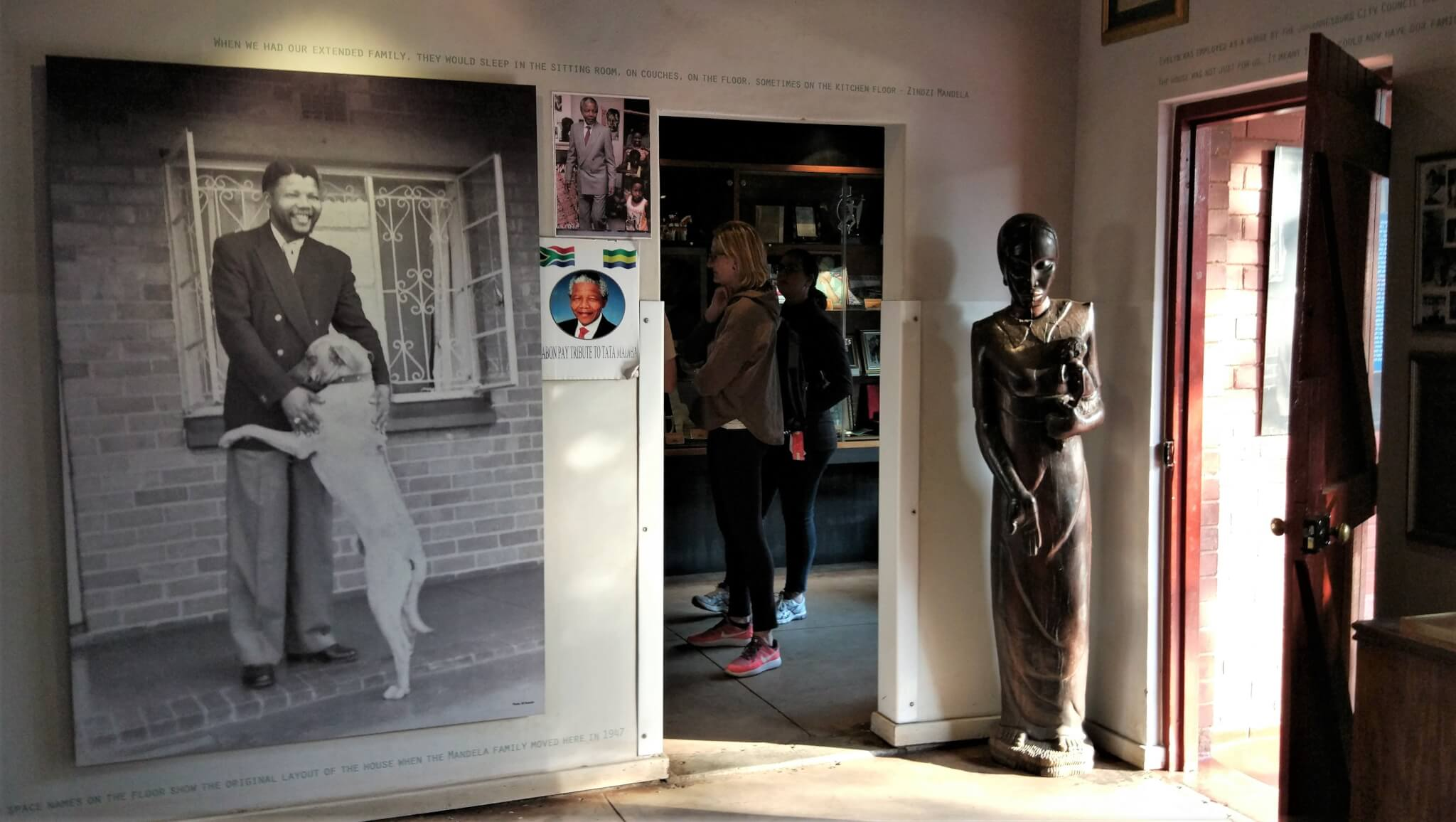 Inside Mandela House