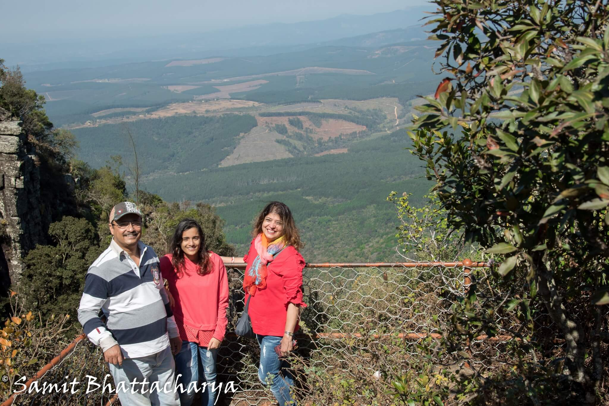 With my family at Gods window : Panorama Route