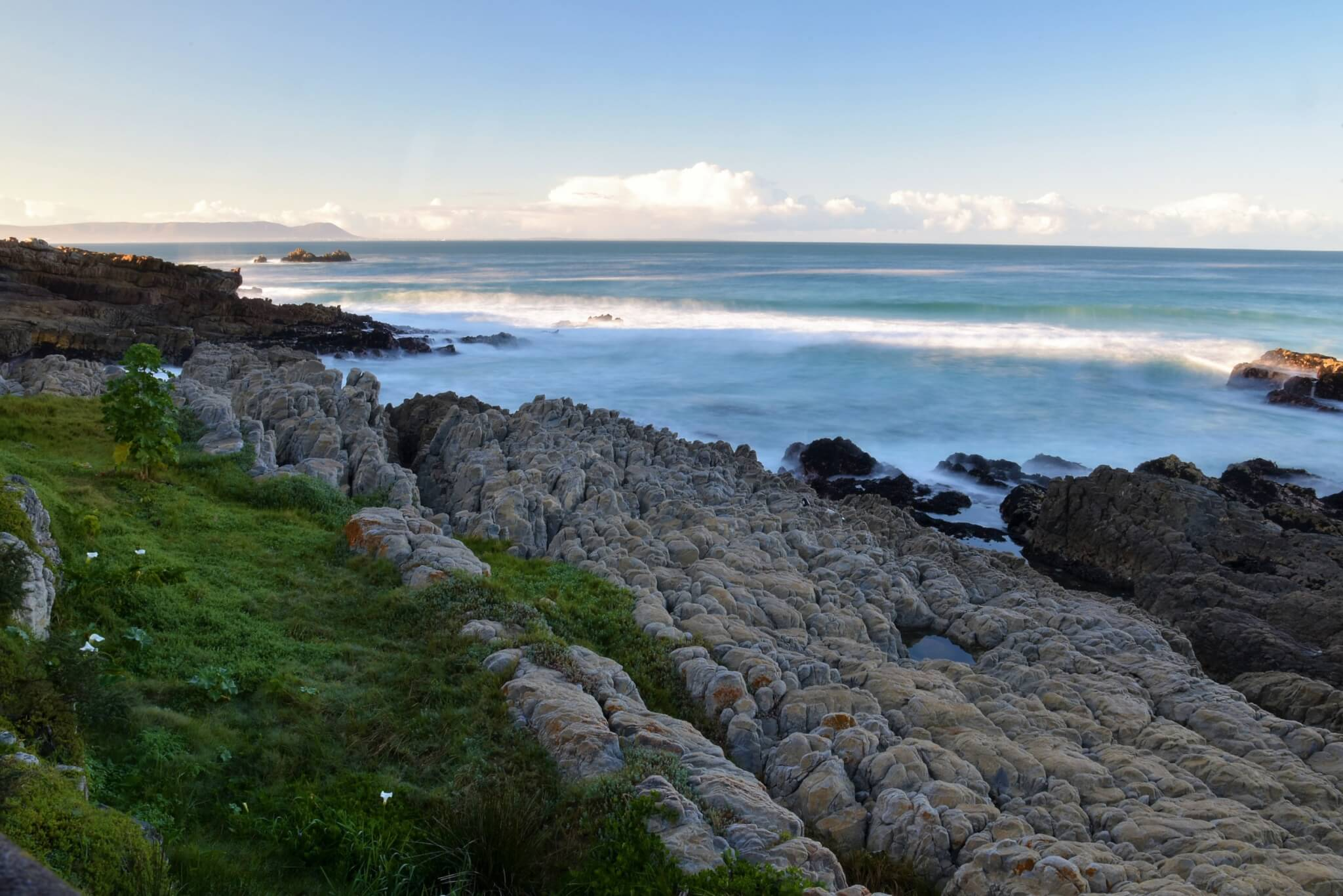 Hermanus Beach at sunrise