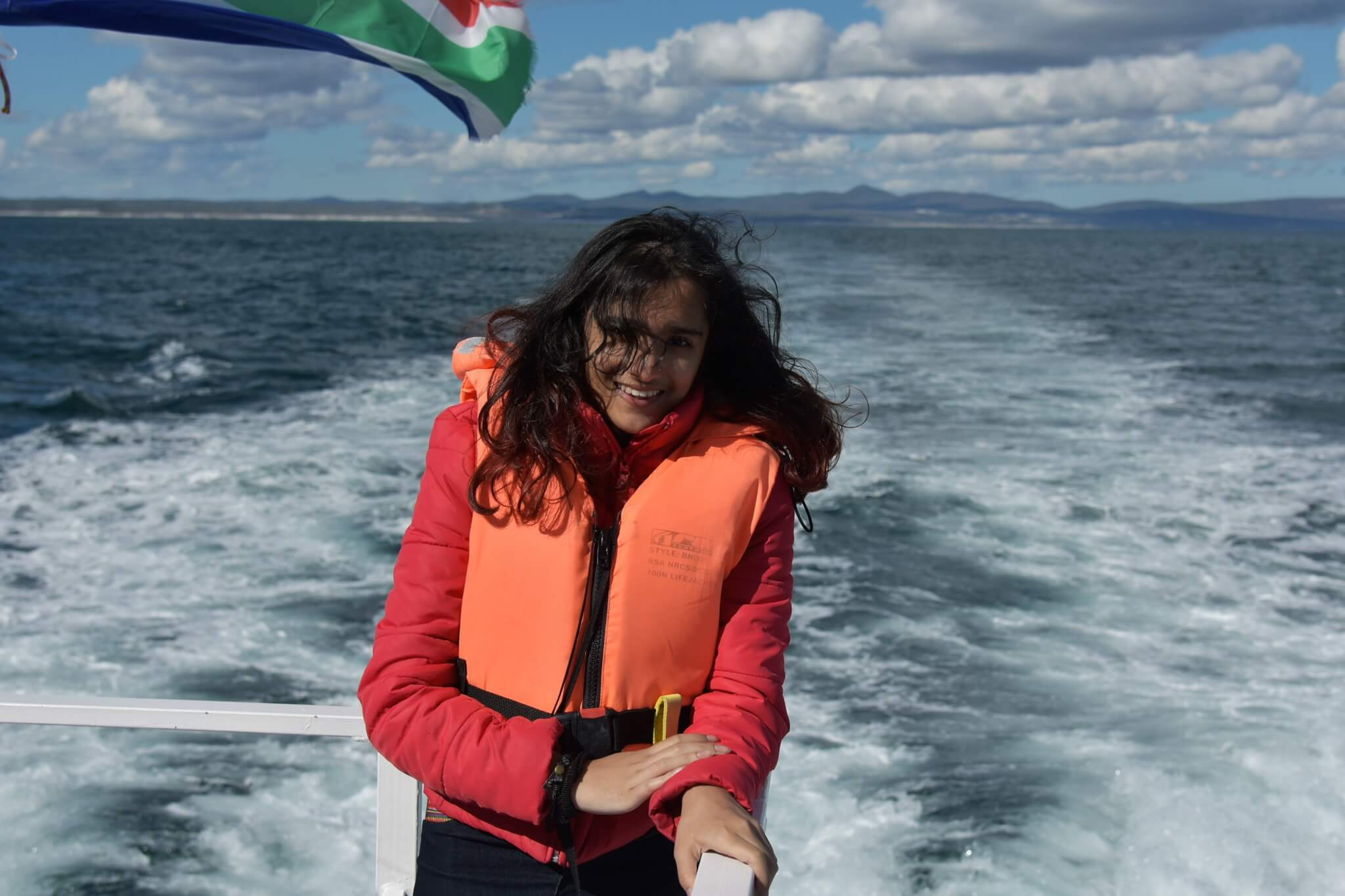 Titir at whale expedition Cruise