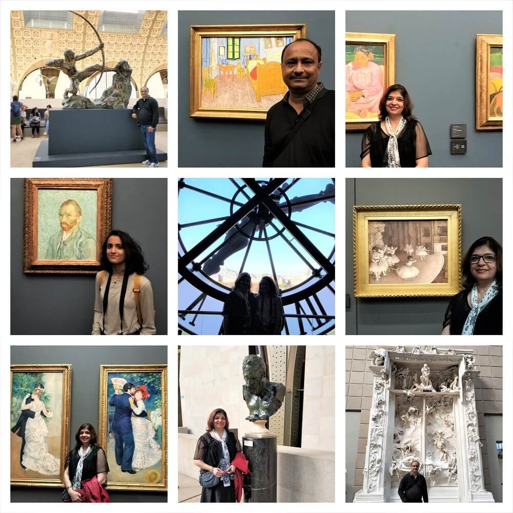 THE AMAZING ART WORK IN THE D'ORSAY MUSEUM
