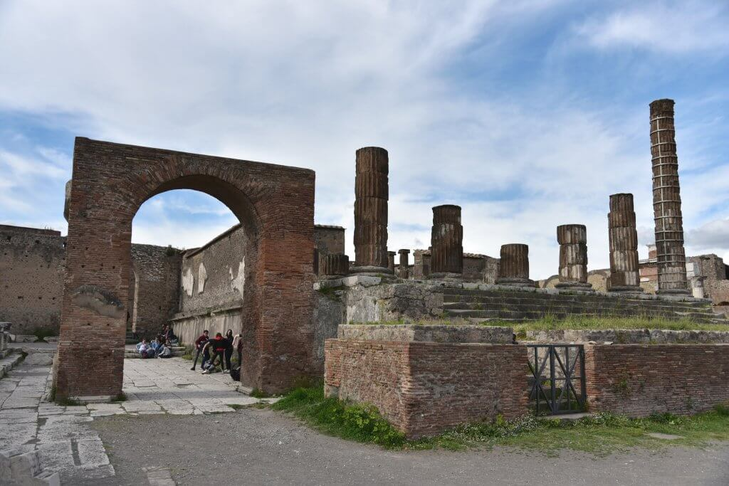 The Temple of Jupiter at Pompeii