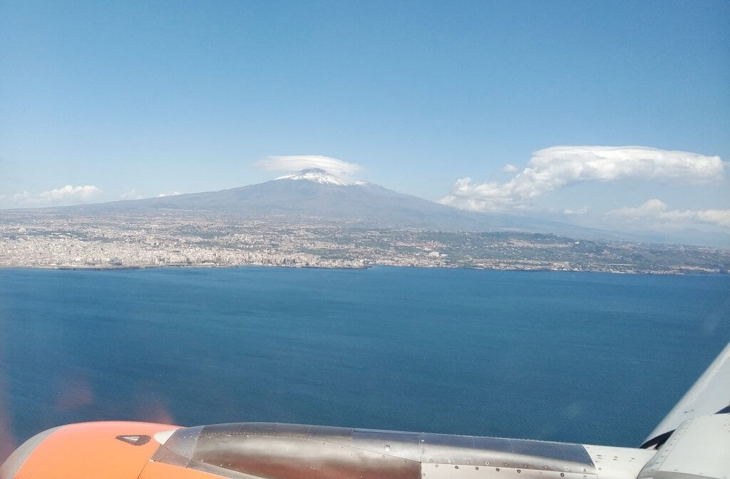 Mount Etna from the sky